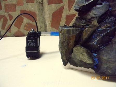 Пескопад в аквариум своими руками фото