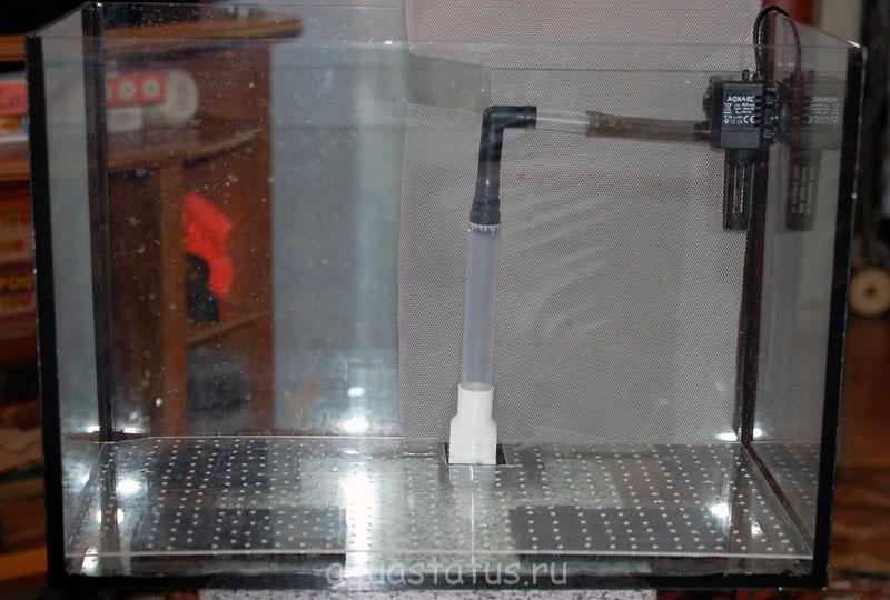 Фильтр в крышку для аквариума своими руками 96