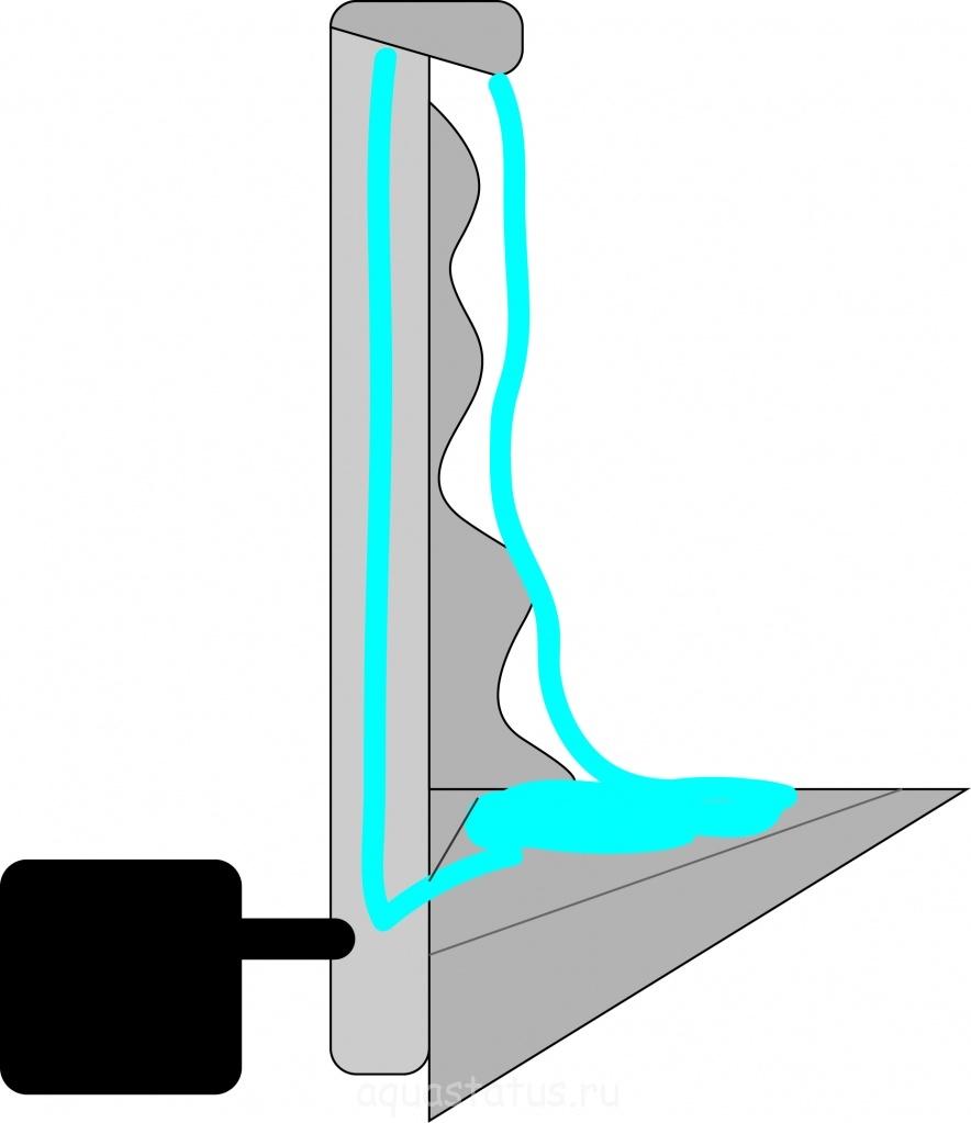 Водопад в аквариуме своими руками пошаговая инструкция 51