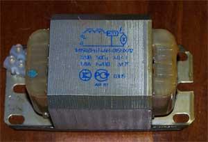 Для запуска и работы лампы использовал отечественный дроссель для ДНаТ 150 ватт 1И150ДНАТ46Н-015 на рабочий ток 1,8 Ампер: - 4.jpg
