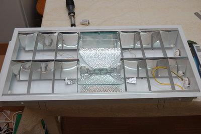 14.04.2009 Начал делать светильник под МГ лампу 150 Вт 2 Т5 по 24 Вт. - 32.jpg