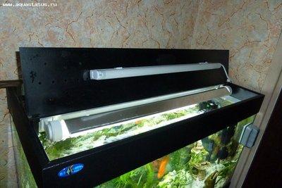 Как сделать свет для аквариума своими руками