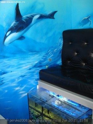 Мой аквариум с Гарра руфа на 190 литров peruka2008  - DSC08903.jpg