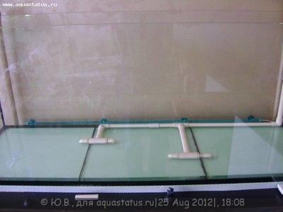 Запуск аквариума в картинках - забор воды.JPG