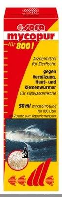 Лечение рыб справочник лекарственнных препаратов для аквариумных рыб  - sera-mycopur_50ml_d.jpg