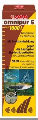 Лечение рыб справочник лекарственнных препаратов для аквариумных рыб  - sera-omnipur-s_50ml_d.jpg