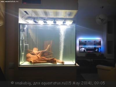 Сквозной аквариум 230 литров snakebig  - IMG_20140504_212657.jpg
