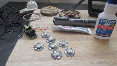 Приступаем к изготовлению освещения. Инструмент и материалы готовы... поехали  - IMG_3378.JPG