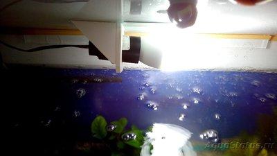 Детский аквариум 35 литров Акварина  - Крепление лампы.jpg