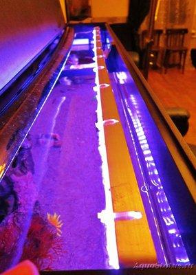 Передняя линейка с 2-мя led лентами - Передняя линейка 2 ленты.JPG